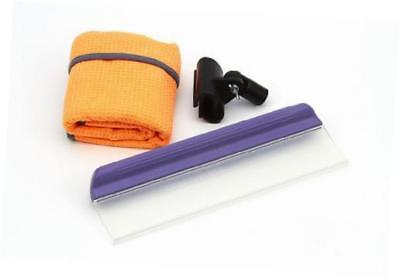 Original Water Blade Bundle, 12 Inch Silicone Squeegee, Pole Adapter and