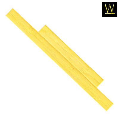 Weatherwood Plank - Yellow (Single Stamp)