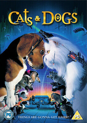 Cats and Dogs DVD (2001) Jeff Goldblum, Guterman (DIR) cert PG Amazing Value