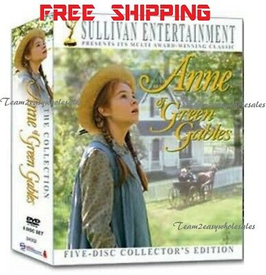 5-Disc Set Anne of Green Gables - The Collection (DVD, 2008, 20th Anniversary)