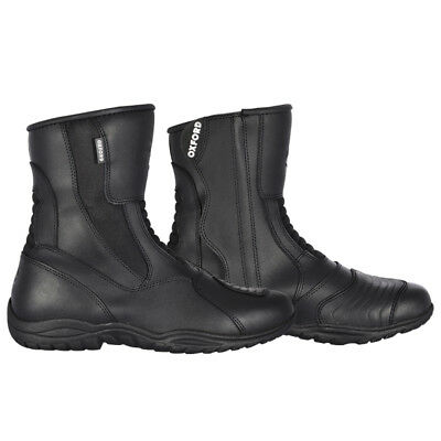 NEW Oxford Hunter Short/Ankle Waterproof Touring Motorcycle Boots