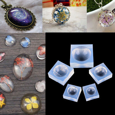 DIY Silicone Pendant Mold Jewelry Making Pendant Resin Casting Mould Craft Tools