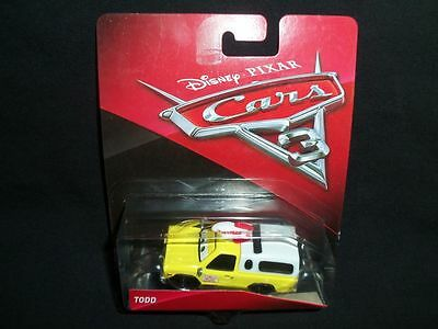 disney cars todd pizza planet truck new on nice card picclick. Black Bedroom Furniture Sets. Home Design Ideas