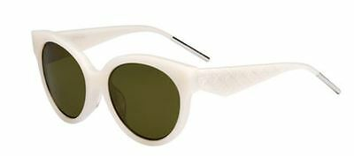 2205c0f3edaa6 NEW CHRISTIAN DIOR Lady Dior Studs 86 O7 Havana Green Sunglasses ...