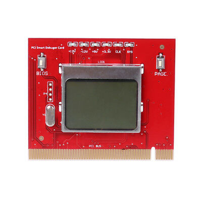 LCD display PCI PC high quality Computer Analyzer Tester Diagnostic Card