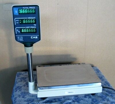 CAS AP-1 price computering scales - used