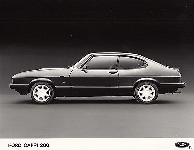 Ford Capri 280 Period Photograph.