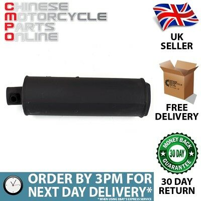 Black Exhaust Silencer for LJ50QT-3L (EXHSIL037)