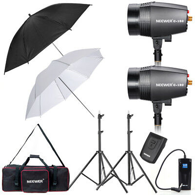 Neewer 360W Strobe Flash Light Monolight Umbrella Lighting Kit for Photography