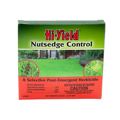 Nutsedge & Horsetail Control Pouch 0.03 oz. Halosulfuron-methyl  75% For Lawns