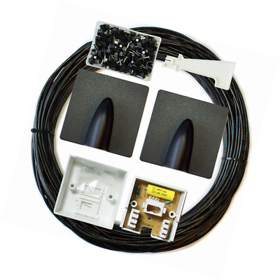 25M BT Extension Outdoor/External Cable/Lead Kit -Telephone Line Phone Broadband