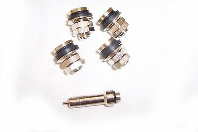 Kart Flush Fit Valve & Adaptor Brand New Karting