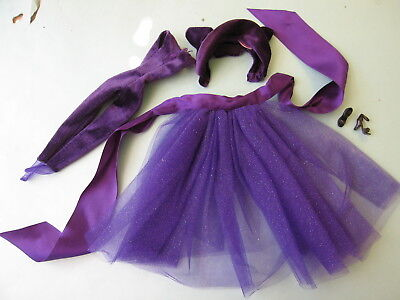 Gown fashion Barbie Purple   /outfit  Complete
