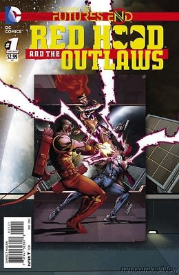Red Hood And The Outlaws Futures End #1 Regular Cover New 52 Dc Comics