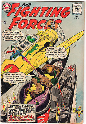 Our Fighting Forces #81 (Jan 1964, DC) Comic Book