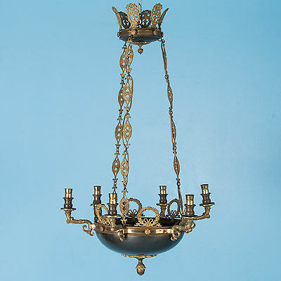 Antique 19th Century French Empire Style Chandelier