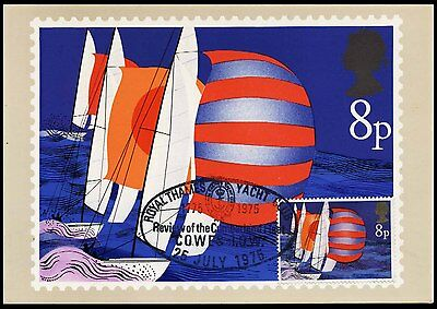 1975 Great Britain - Royal Thames Yacht Club - Nice P/mk - Maxicard - J66