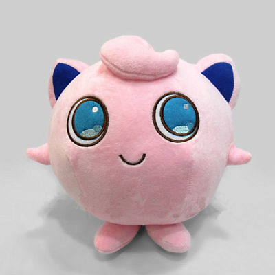 "6"" Anime Pokemon Pocket Monster Jigglypuff Plush Toy Stuffed Doll Cosplay Gift"