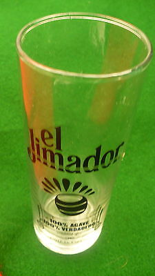 El Jimador Tequila drink glass 10 ounce agave verdadero