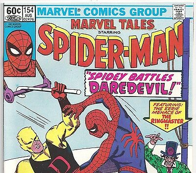 The Amazing Spider-Man #16 Reprint in Marvel Tales #154 from Aug. 1983 in F/VF