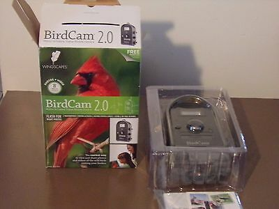 BirdCam 2.0 with Flash (WSCA02) by Wingscapes Brand New In Box