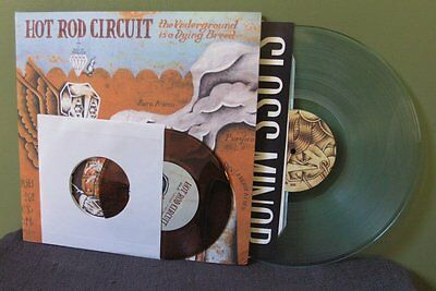 "Hot Rod Circuit ""The Underground Is A Dying"" LP 225 The Get Up Kids Say Anything"