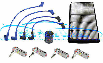 TUNE-UP KIT for MAZDA RX-8 1.3L NGK WIRE SET IRIDIUM SPARK PLUGS AIR OIL FILTER