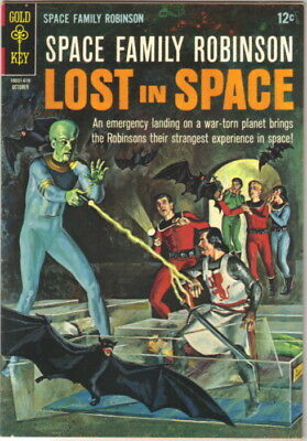 Space Family Robinson Lost In Space Comic Book #18 Gold Key 1966 VERY FINE-