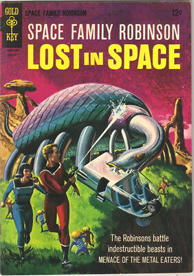 Space Family Robinson Lost In Space Comic Book #15 Gold Key 1966 VERY FINE-