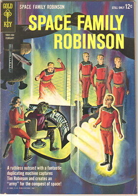 Space Family Robinson Lost In Space Comic Book #6 Gold Key 1964 FINE+
