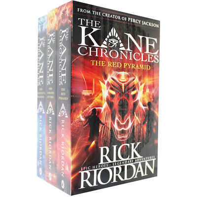 The Kane Chronicles - 3 Book Collection (Paperback Collection), Collections, New