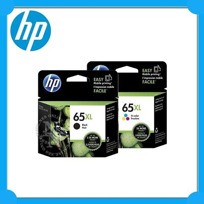HP Genuine #65XL BLACK+COLOUR High Yield Ink Set for Deskjet 3720/3721/3723