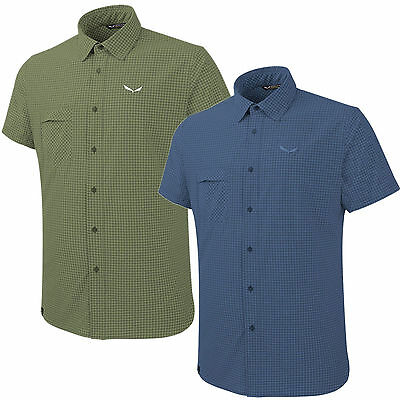 Salewa Puez Mini Check Dry men's functional shirt Trekking Outdoor NEW