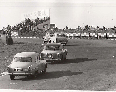 Saloon Cars Racing, R.a.c. Rally 1958 At Brand Hatch, Photograph.