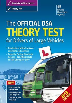 The Official DSA Theory Test for Drivers of Large Vehicles - 2013 edition,Drivi