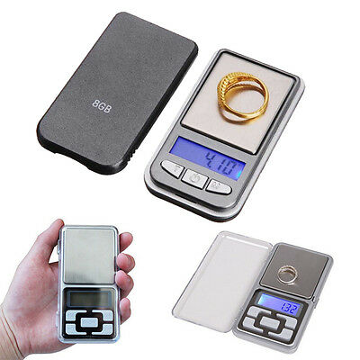 100g/200g x 0.01g Digital Scale Jewelry Gold Herb Balance Weight Gram Tester Hot