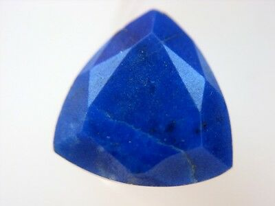 LAPISLAZULI  -  TRILLANT FACET  -  10 mm  -  3,57 ct.