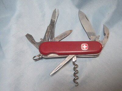 Wenger Delemont SWISS Army Knife Multi - Tool Lock Blade POCKET KNIFE