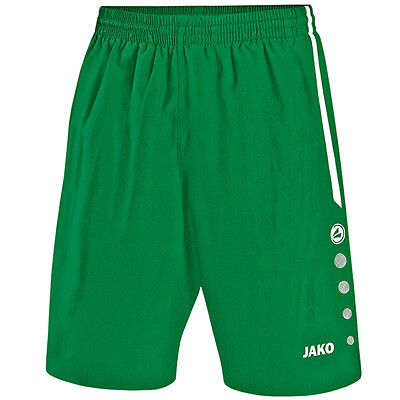 Jako Tracksuit Bottoms Turin Short Children's Sports Pants Sports-Green 4462-06