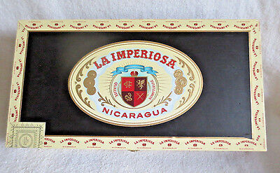 Crowned Heads La Imperiosa Magicos Wood Cigar Box - Nice! - Beautiful!