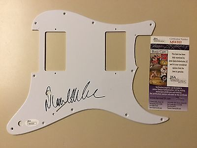 David Allan Coe signed Country Pickguard Autographed Auto JSA #M94360