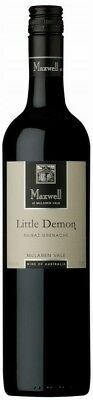 Maxwell `Little Demon` Shiraz Grenache 2015 (12 x 750mL), McLaren Vale, SA.