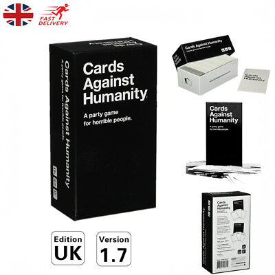 UK Cards Against Humanity Card Game Board Playing Edition Family Birthday Party