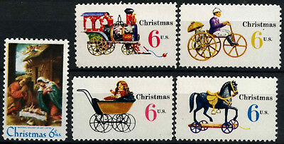 USA 1970 SG#1410-4 Christmas MNH Set #D55461