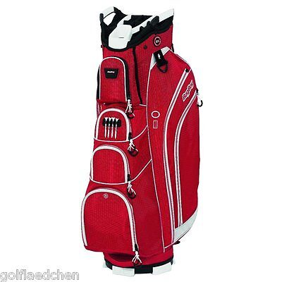 Bag Boy DLX 14 - Premium Cartbag / Golfbag - Rot/Weiss - NEU - UVP 199,90€  SALE