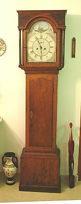 Grandfather Longcase clock by Walker & Hughes circa. 1811-1835 for restoration