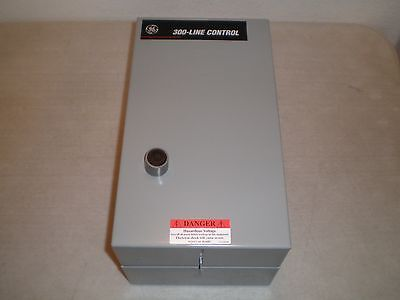 New General Electric CR306D1** Motor Starter w/Type 1 Enclosure GE 300 Line 25HP