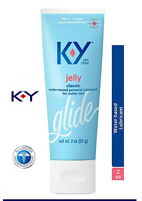 KY Jelly Gel Lube Personal Sex Lubricant Moisture 2oz (New AVOID Old eBay Stock)