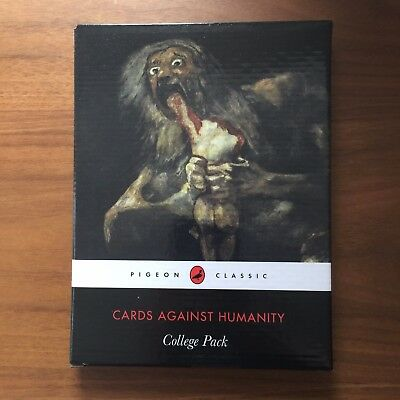 Cards Against Humanity College Pack Sealed New  30 Cards Expansion