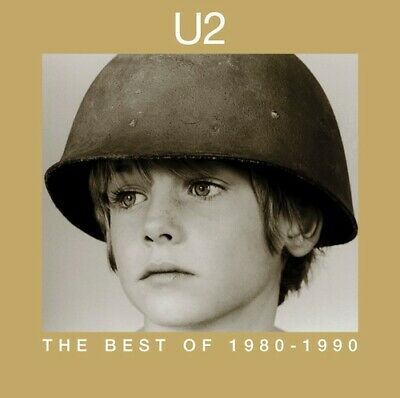 U2 The Best of 1980-1990 CD Bono Edge Pride Desire Sunday Bloody New Year's Day